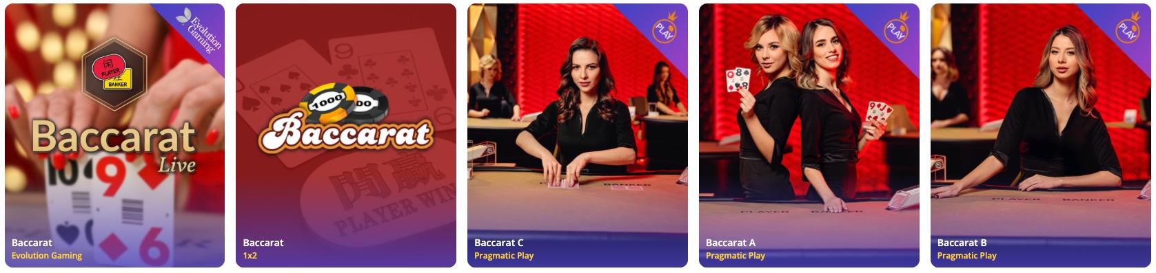 live baccarat games