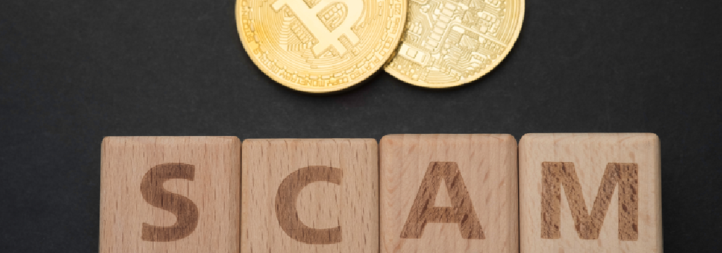 crypto scam banner
